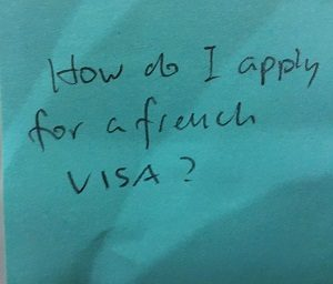 How do I apply for a french visa?