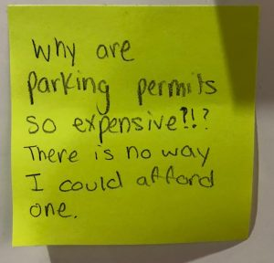Why are parking permits so expensive?!? There is no way I could afford one.