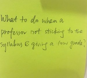 What to do when a professor not sticking to their syllabus & giving low grades?