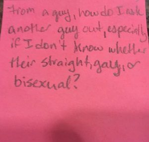 straight or bisexual