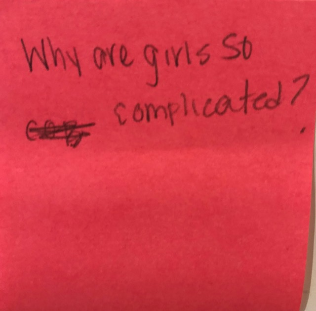 Why are girls complicated