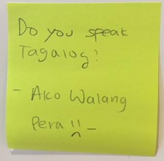 Hookup tagalog