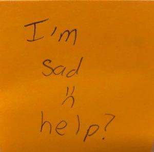 I'm sad :( help?