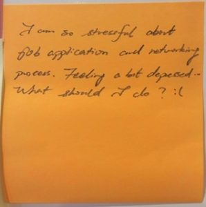 I am so stressful about job application and networking process. Feeling a bit depressed... What should I do? :(