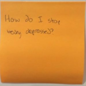 How do I stop being depressed?