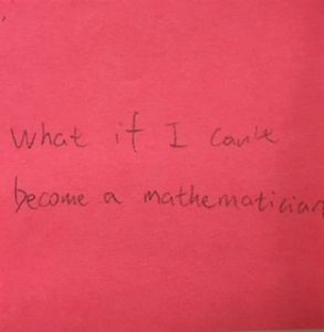 What if I can't become a mathematician