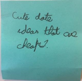 Cute date ideas that are cheap?