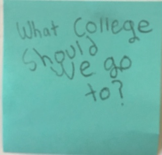 What college should we go to?