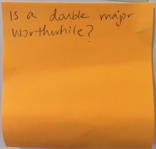 Is a double major worthwhile?