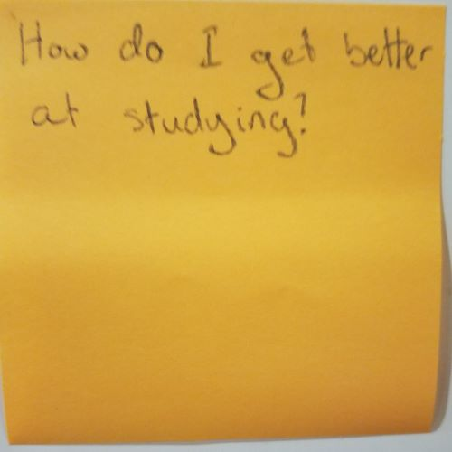 How do I get better at studying?