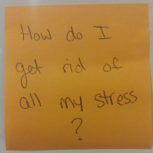 How do I get rid of all my stress?