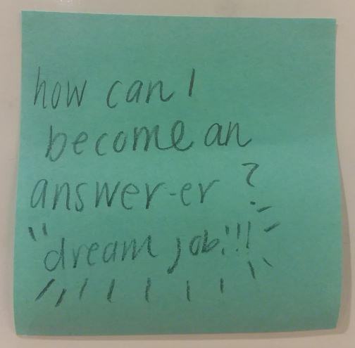 how can I become an answer-er? dream job!!!