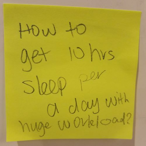 How to get 10 hrs sleep per a day with huge workload?