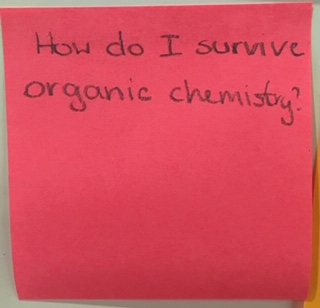 How do I survive organic chemistry?