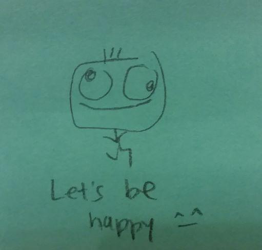 Let's be happy :)