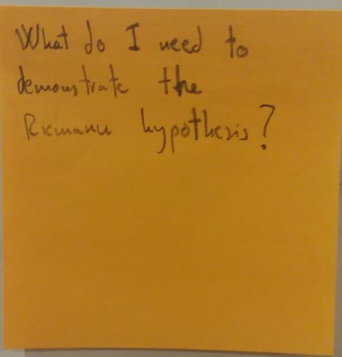 What do I need to demonstrate the Riemann hypothesis?