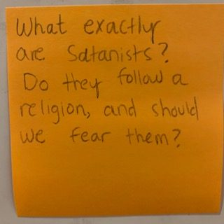What exactly are satanists? Do they follow a religion, and should we fear them?