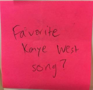 Favorite Kanye West song?