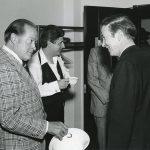 Fr. Monan and Bob Hope in 1978