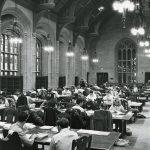 Students studying in Gargan Hall
