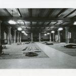 Bapst Libary during renovations