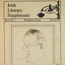 Scan of Irish Literary Supplement from 1982