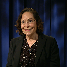 Professor Mullis during her interview