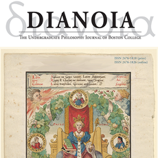 Colorful illustration used for the Dianoia journal's cover.