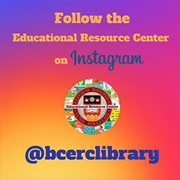 Follow the Educational Resource Center on Instagram