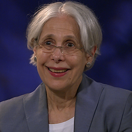 Professor Netzer during her interview