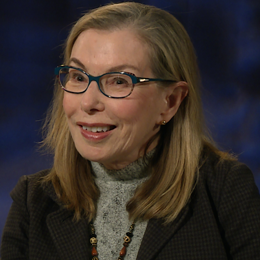 Professor Tabloski during her interview
