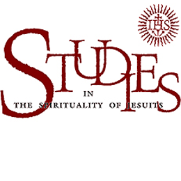 logo reads Studies in the Spirituality of Jesuits