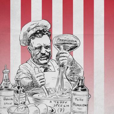 Illustration of Theodore Roosevelt