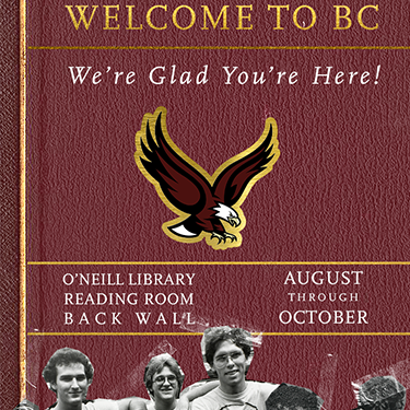 A year book cover with a golden eagle.