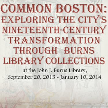 Common Boston exhibit poster