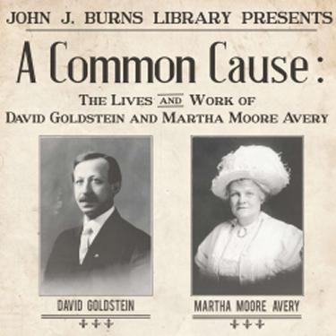 Common Cause exhibit poster