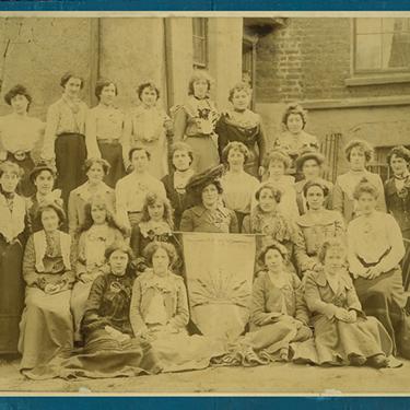Irish Women Rising exhibit poster