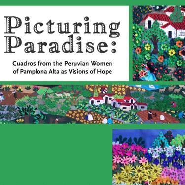 Picturing Paradise exhibit poster