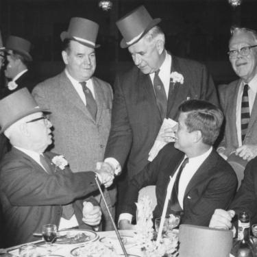 Tip O'Neill with John F. Kennedy