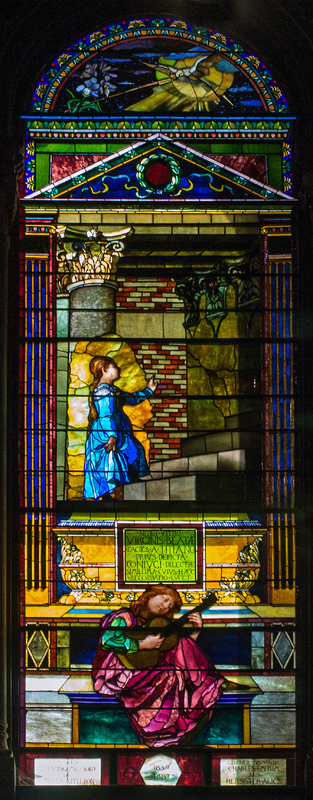 Presentation of Virgin in Temple, Julia Appleton McKim Memorial Window