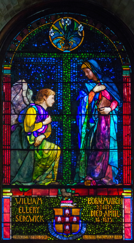 The Annunciation, William Ellery Sedgewick Memorial Window