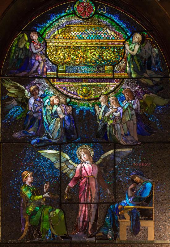 The Angel of Help, Helen Angier Ames Memorial Window