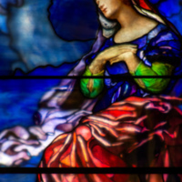 Angie Lacey Peck Memorial Window