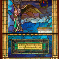 The Angel at the Tomb, Benjamin Franklin Crane Memorial Window