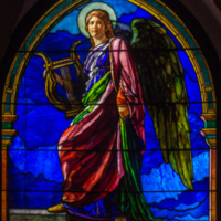 The Angel Holding a Lyre (or The Harpist)