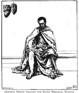 John La Farge: illustration for Dramatis Personae, by Robert Browning 1864.
