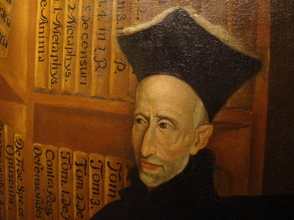 Painting of Francisco Suárez, SJ