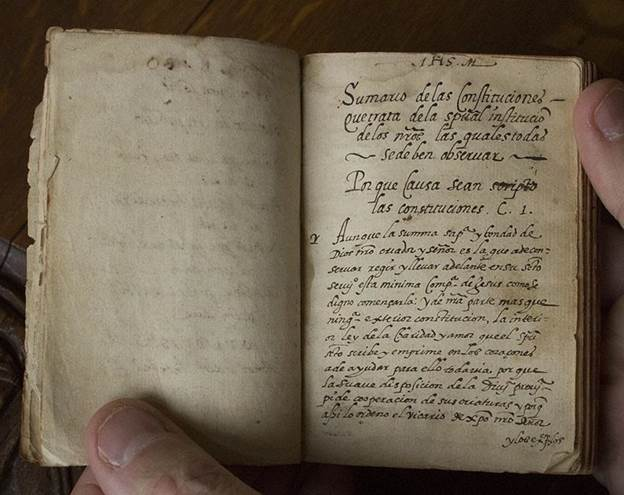 Another hand sized manuscript published in Portugal in 1553