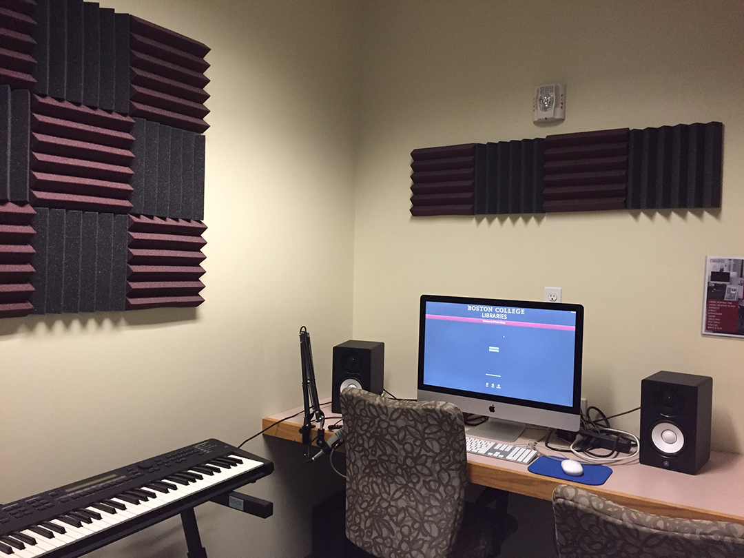 The updates to the Sound Room in the Digital Studio