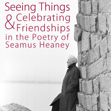 Photo of Seamus Heaney by the sea